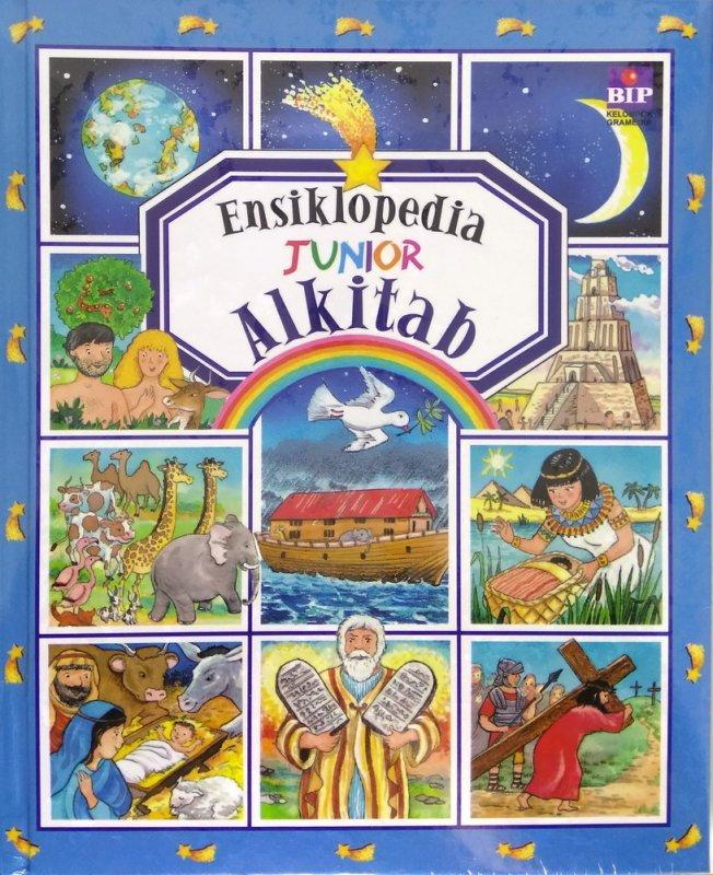 Cover Buku Ensiklopedia Junior: Alkitab - Cover Baru 2018