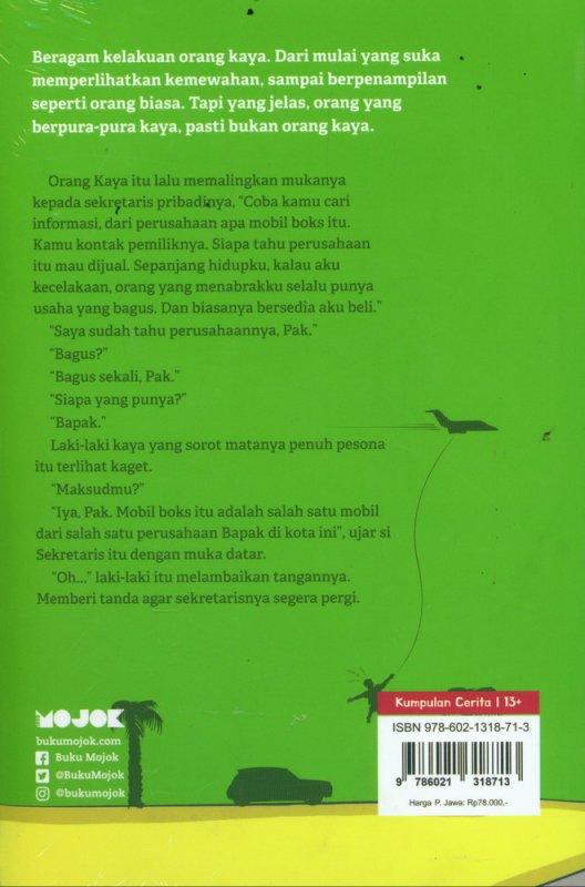 Cover Belakang Buku Kelakuan Orang Kaya
