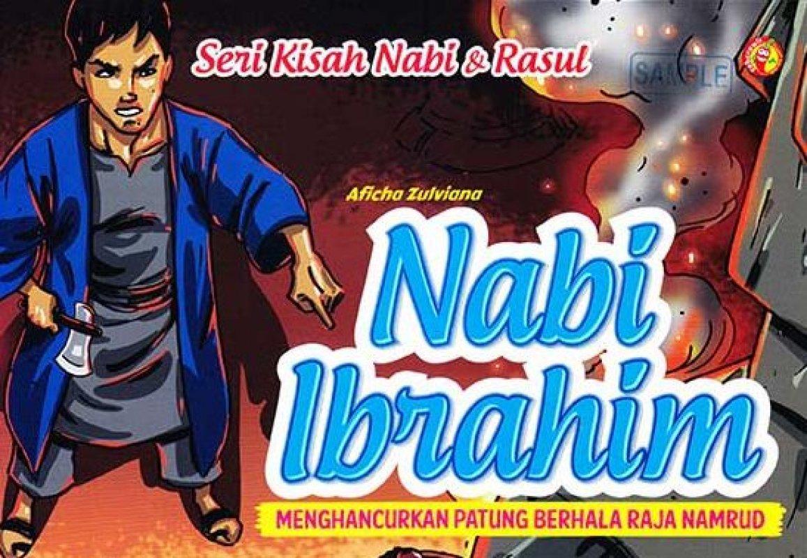 Cover Buku SERI KISAH NABI & RASUL NABI IBRAHIM