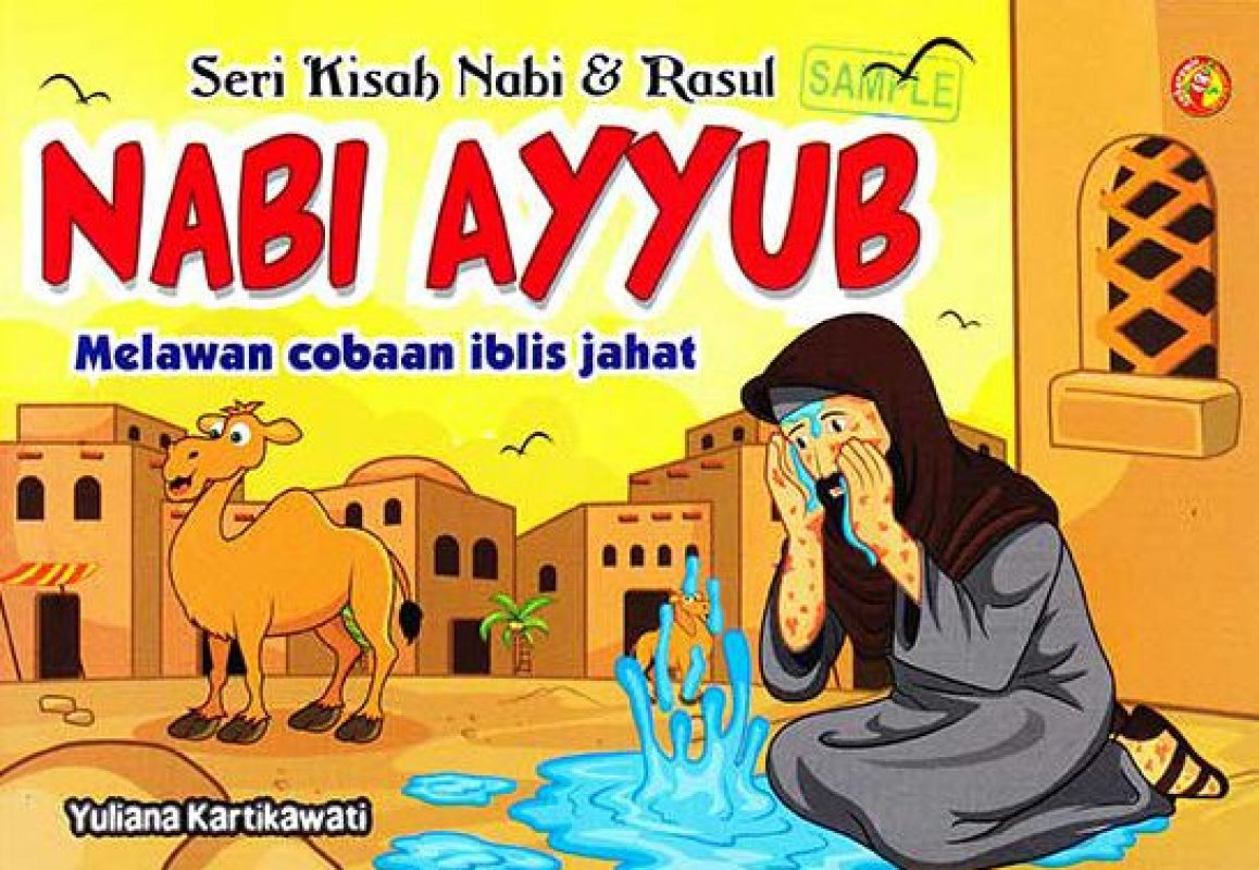 Cover Buku SERI KISAH NABI & RASUL NABI AYYUB