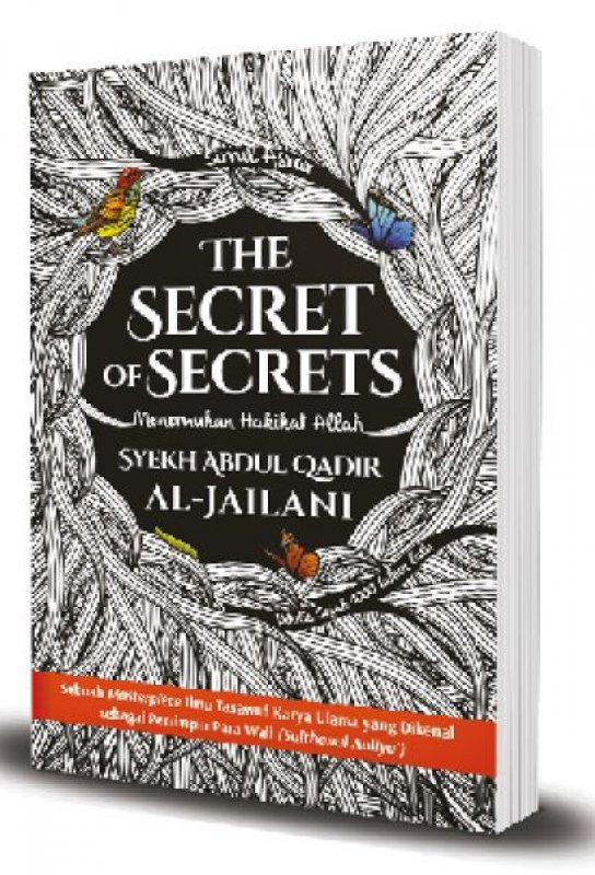 Cover Buku The Secret of Secrets Menemukan Hakikat Allah