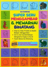 Super Seru Menggambar & Mewarnai Binatang