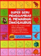 Super Seru Menggambar & Mewarnai Dinosaurus