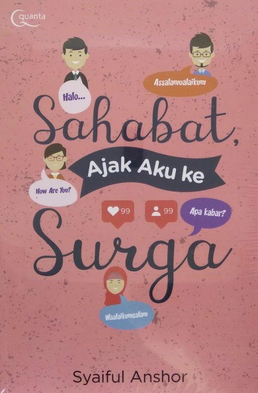 Cover Buku Sahabat Ajak Aku ke Surga
