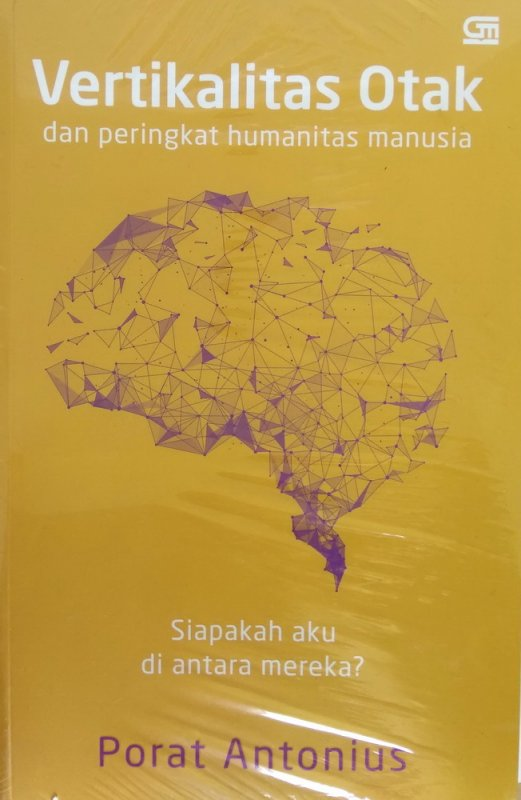 Cover Buku Vertikalitas Otak & Peringkat Humanitas Manusia