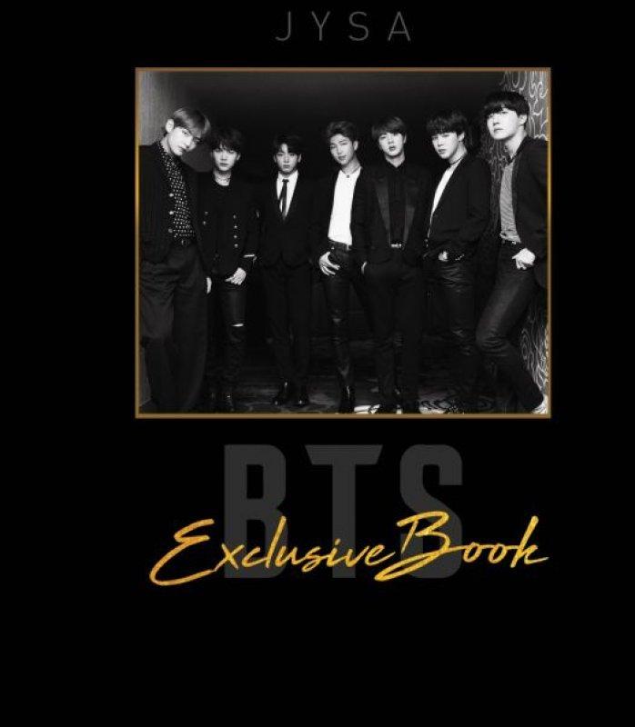 Cover Buku BTS & EXO Exclusive Books