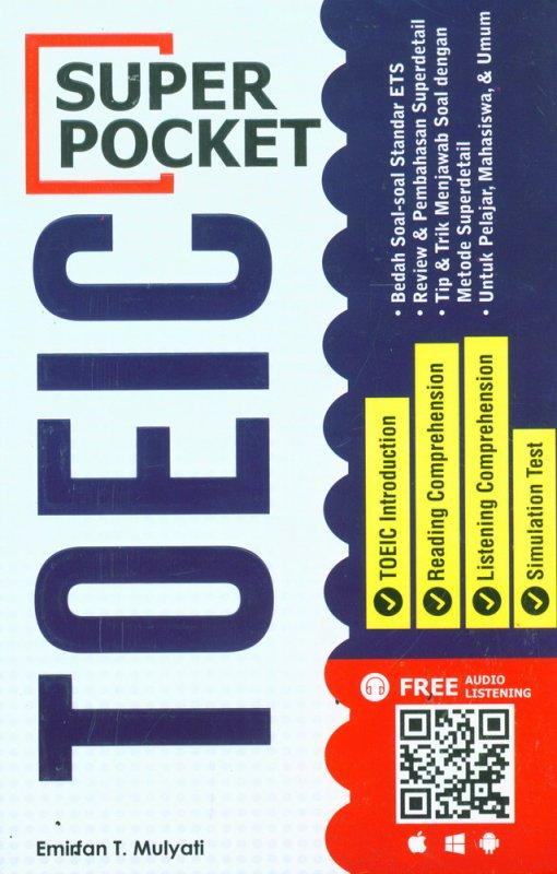 Cover Buku SUPER POCKET TOEIC