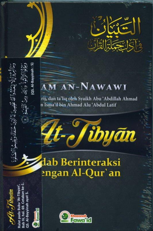 Cover Buku AT TIBYAN Adab Berinteraksi Dengan Al-Quran (Hard Cover)