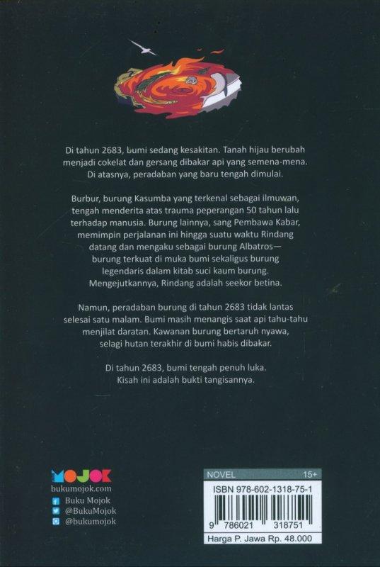 Cover Belakang Buku Cerita Bumi Tahun 2683