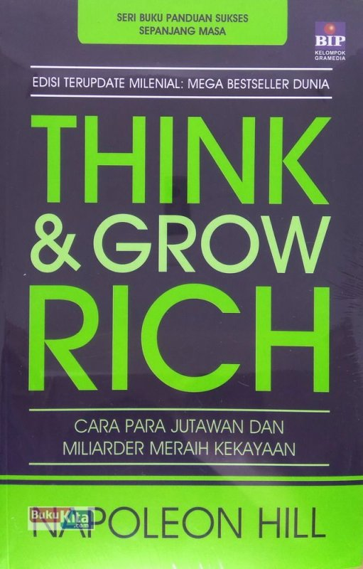 Cover Buku Think and Grow Rich (Edisi Terupdate Abad 21)