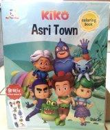 Opredo Coloring Book Kiko: Asri Town