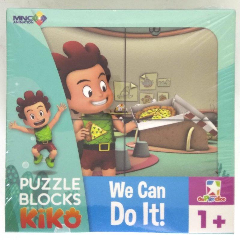 Cover Buku Opredo Puzzle Blocks Kiko: We Can Do It!