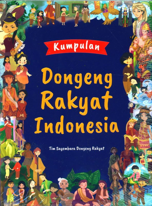 Cover Buku Kumpulan Dongeng Rakyat Indonesia