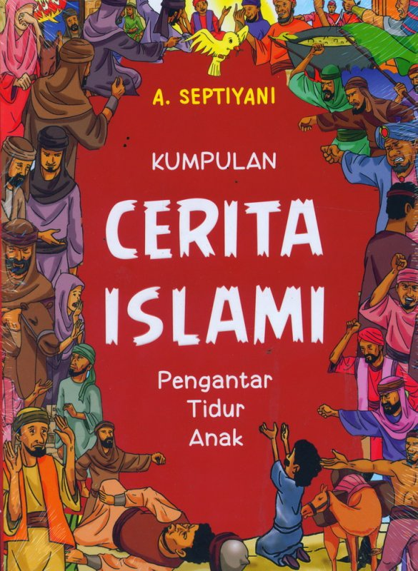 Cover Buku Kumpulan Cerita Islami - Pengantar Tidur Anak