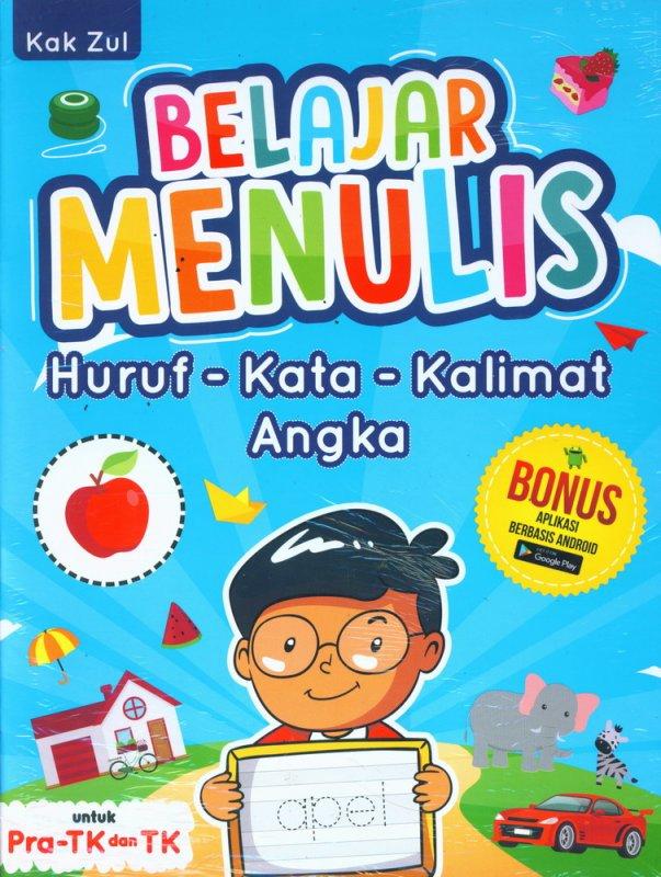 Cover Buku Belajar Menulis Huruf-Kata-Kalimat-Angka