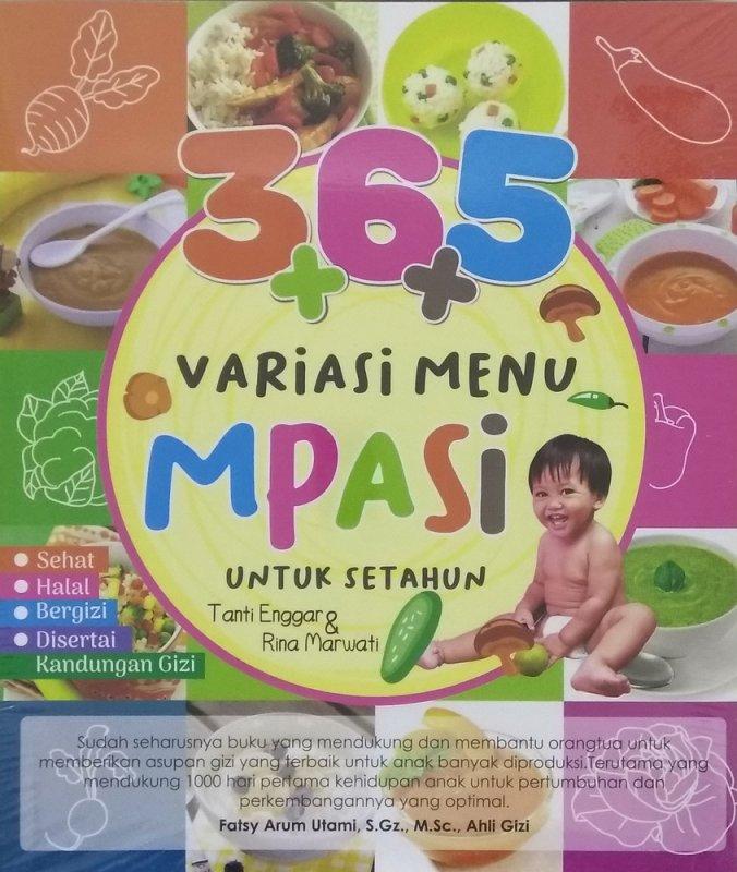 Cover Buku 365++ Variasi Menu MPASI Untuk Satu Tahun