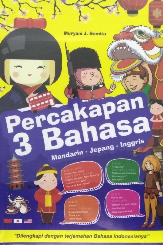 Cover Buku Percakapan 3 Bahasa (Mandarin-Jepang-Inggris)