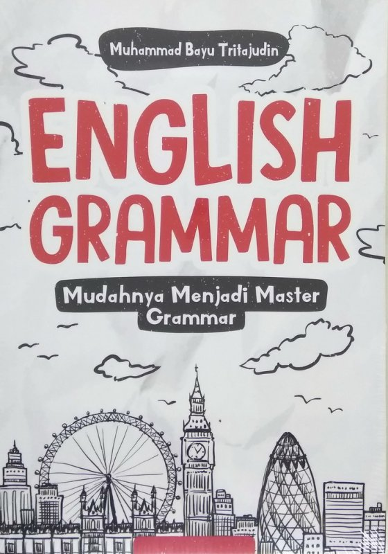 Cover Buku English Grammar Mudahnya Menjadi Master Grammar