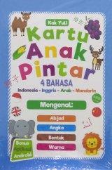 Kartu Anak Pintar 4 Bahasa (Indonesia-Inggris-Arab-Mandarin)