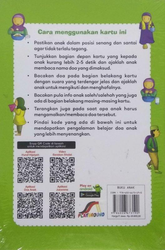 Cover Belakang Buku 66 Doa Anak Muslim