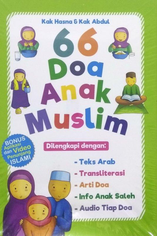 Cover Buku 66 Doa Anak Muslim