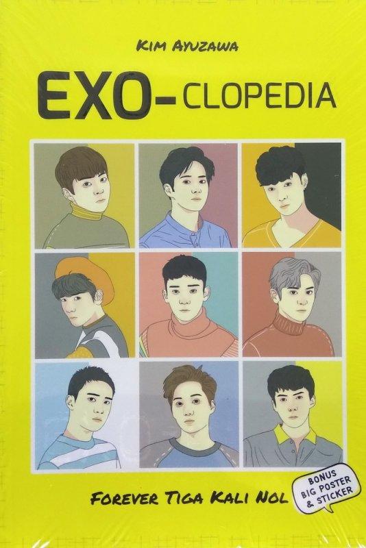 Cover Buku EXO-CLOPEDIA: Forever Tiga Kali Nol