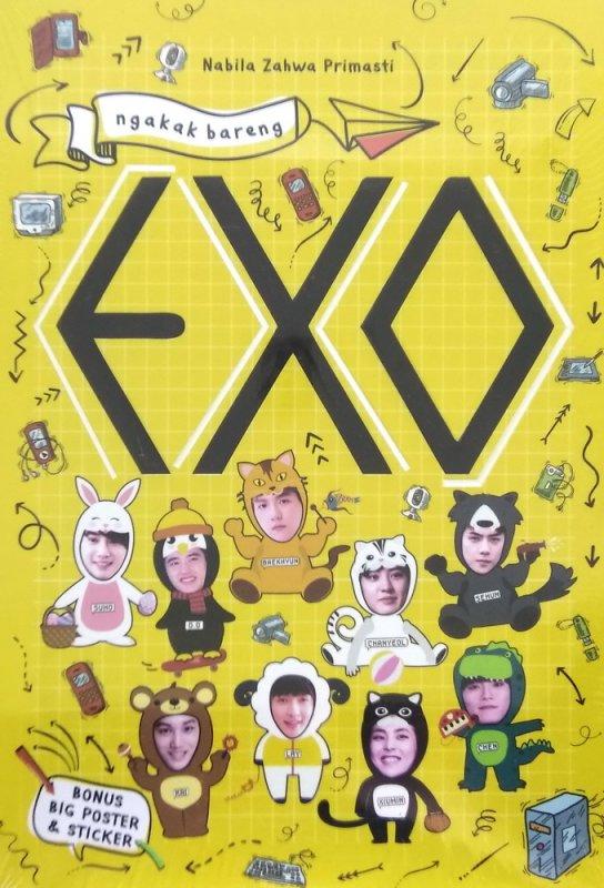 Cover Buku Ngakak Bareng EXO