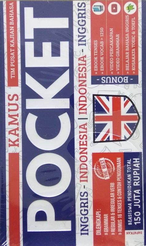 Cover Buku Kamus Pocket Inggris-Indonesia | Indonesia-Inggris