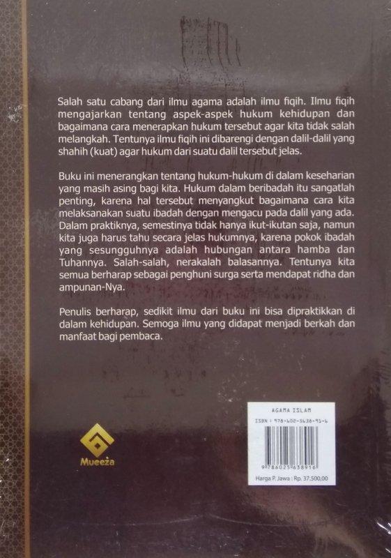 Cover Belakang Buku Panduan Mudah Belajar FIQIH