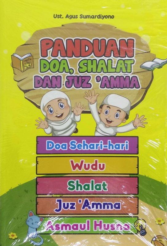 Cover Buku Panduan Doa, Shalat dan Juz Amma