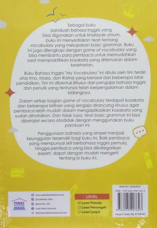 Cover Belakang Buku Belajar Bahasa Inggris Ala Kampung Pare