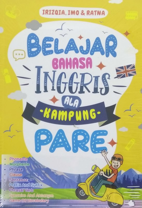 Cover Buku Belajar Bahasa Inggris Ala Kampung Pare