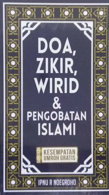 Cover Buku Doa, Zikir, Wirid dan Pengobatan Islami