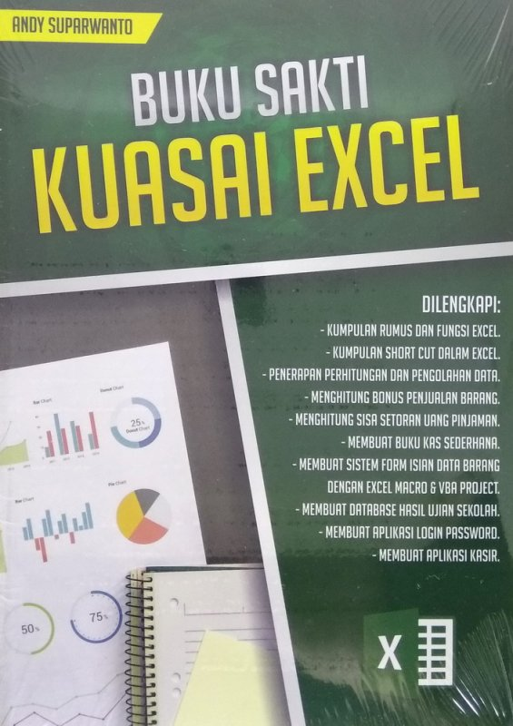 Cover Buku Buku Sakti Kuasai Excel