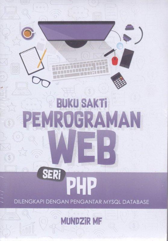 Cover Buku Buku Sakti Pemrograman Web Seri PHP