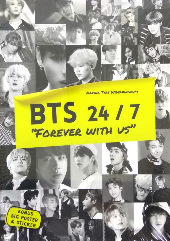 Cover Buku BTS 24 / 7 : Forever With Us