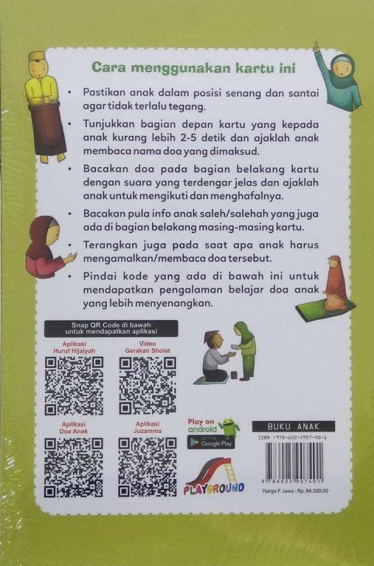 Cover Belakang Buku Kartu Pintar Shalat