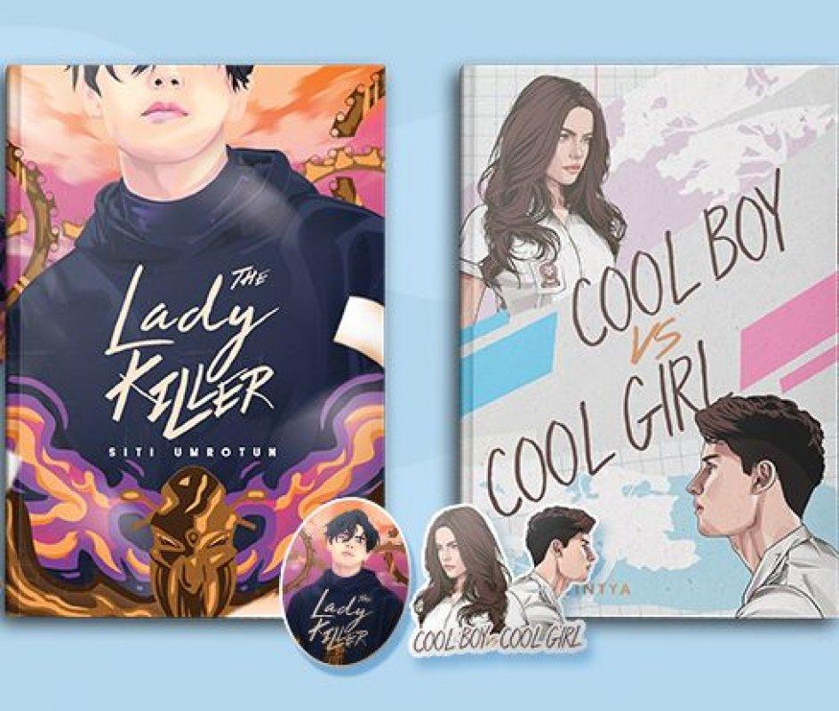Cover Buku PAKET BUNDLING (Buku The Lady Killer & Cool Boy VS Cool Girl) Pre Order