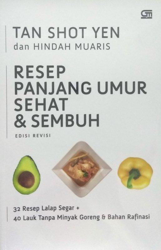 Cover Buku Resep Panjang Umur Sehat & Sembuh