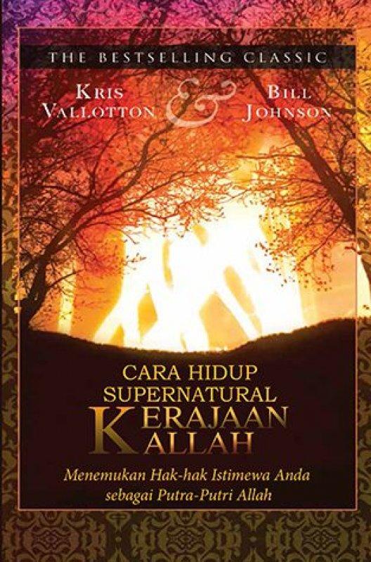 Cover Buku Cara Hidup Supernatural Kerajaan Allah
