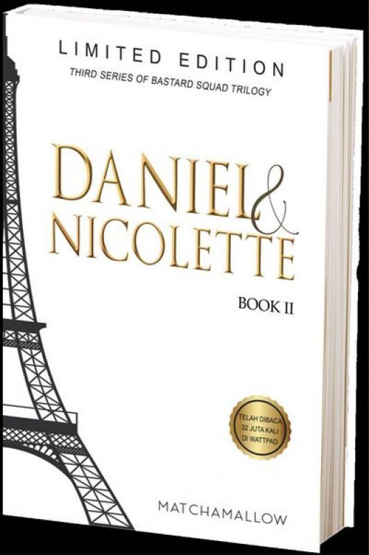 Cover Buku Daniel & Nicolette #2