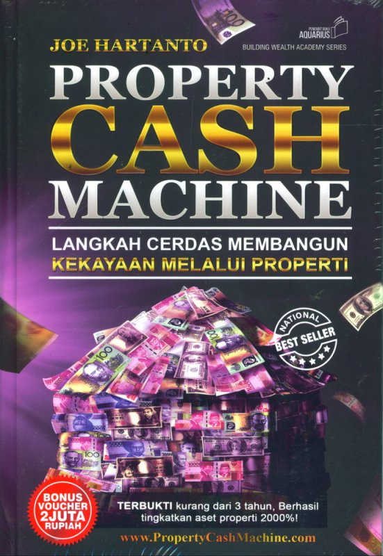 Cover Property Cash Machine (Hard Cover)