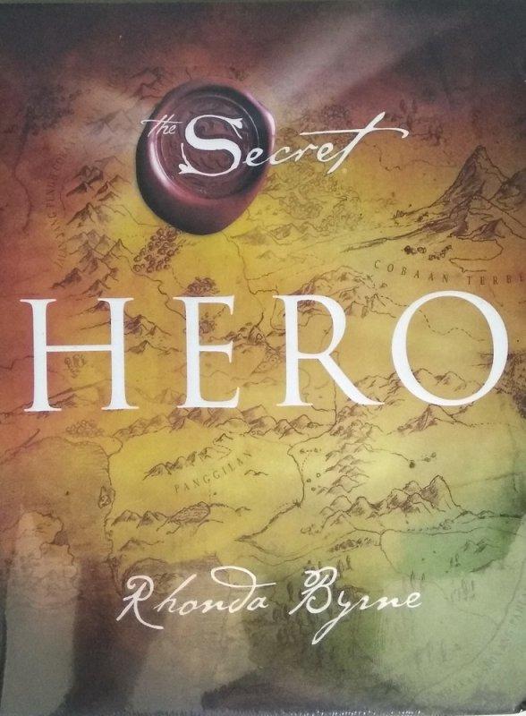 Cover Buku The Secret - HERO (Hard Cover)