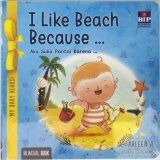 My Baby Reads!-I Like Beach Because