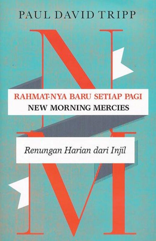 Cover Buku Rahmat-Nya Baru Setiap Pagi