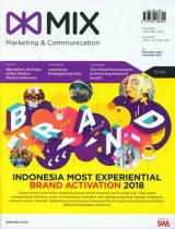 Majalah MIX Marketing Communications Edisi November - Desember 2018