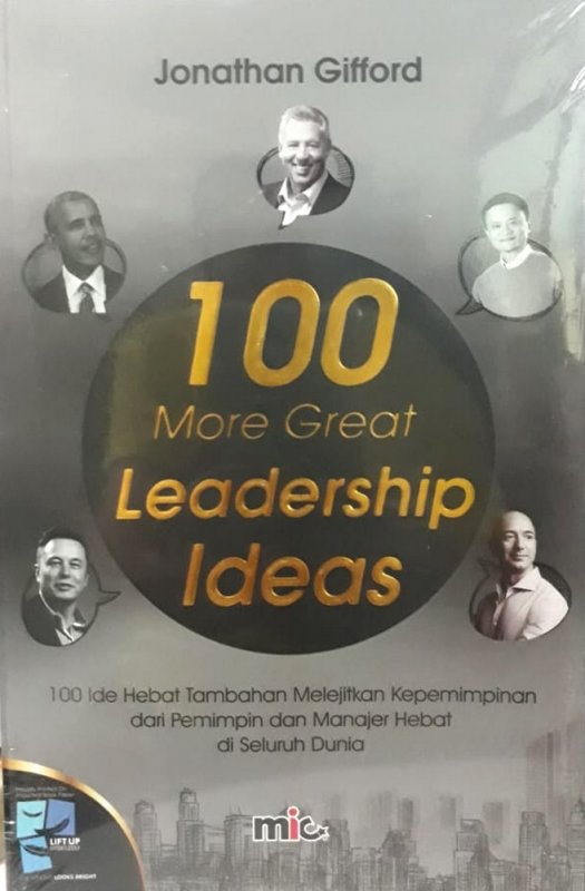 Cover Buku 100 More Great Leadership Ideas