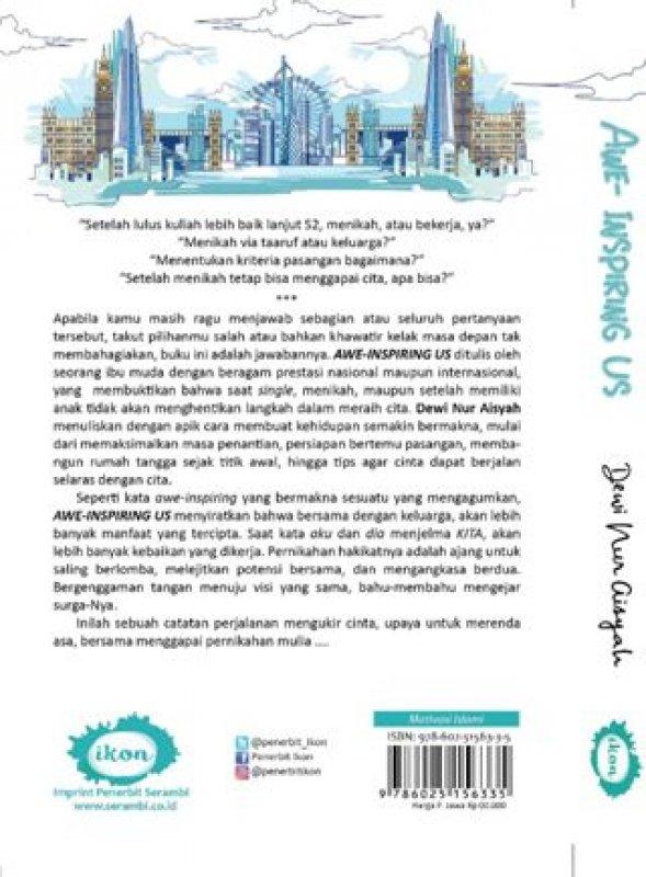 Cover Belakang Buku Awe Inspiring Us