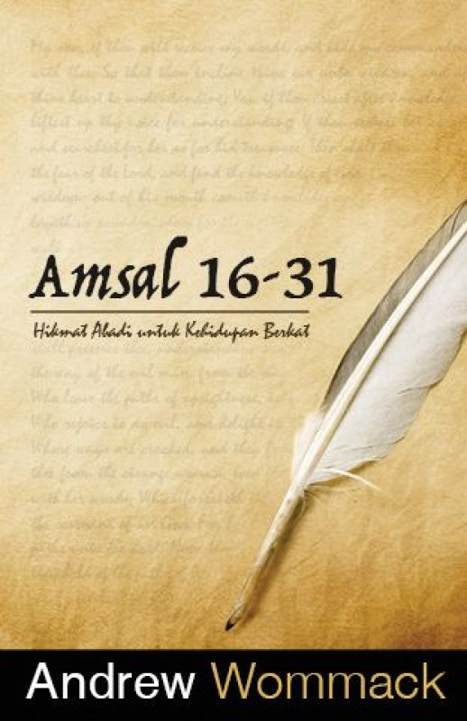 Cover Buku Amsal 16-31
