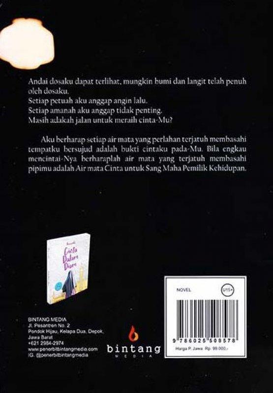 Cover Belakang Buku Air Mata Cinta
